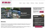 Lancement nouveau site web PRD